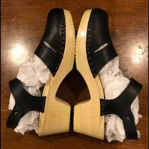 NWOT SVEN clog sandal Mary Jane 41 10 black